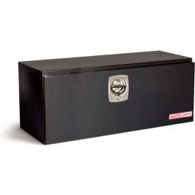 Weather Guard Underbed Truck Box, Black Steel Flatbed/Platform/Dump Truck 9.1 Cu. Ft.  - 548-5-02