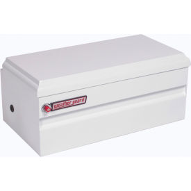 Weather Guard All-Purpose Truck Chest White Steel, Compact Size 6.0 Cu. Ft. Capacity - 645-3-01