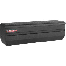 Weather Guard All-Purpose Truck Chest Textured Black Aluminum, Full Size 13.1 Cu. Ft. Cap. 664-52-01