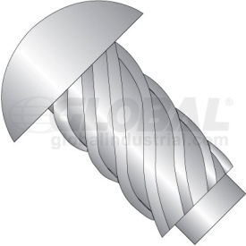 0X1/8  Round Head Type U Drive Screw 316 Stainless Steel, Pkg of 10000