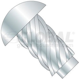 #0 x 3/8 Round Head Type U Drive Screw - Zinc Bake - Pkg of 10000