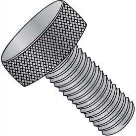 """#4-40 x 1/2"""" Knurled Thumb Screw - FT - Aluminum - Pkg of 100"""
