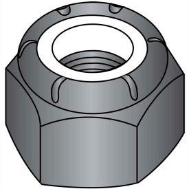 4-40  Nylon Insert Hex Lock Nut Black Zinc, Pkg of 2000