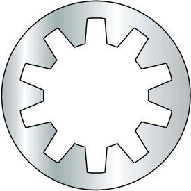 #4 Internal Tooth Lock Washer - Zinc - Pkg of 10000
