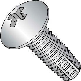 6-32X3/8  Phill Full Contour Truss Thread Cutting Screw Type F Full Thrd 18 8 S/steel, Pkg of 5000
