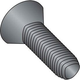 6-32X3/8 Phil Flat Taptite Alt Thread Rolling Scrw Fully Thread Black & Wax,10000 pcs
