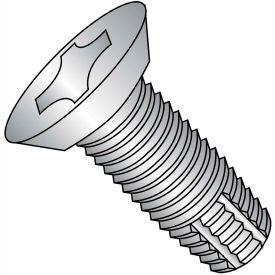 8-32X3/8  Phil Flat Undercut Thread Cutting Screw Type F Full Thread 18 8 Stainless Steel,5000 pcs