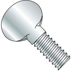 "#8-32 x 1/2"" Thumb Screw - FT - Zinc - Pkg of 2000"