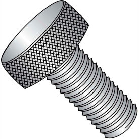 """#8-32 x 9/16"""" Knurled Thumb Screw - FT - 18-8 Stainless Steel - Pkg of 100"""
