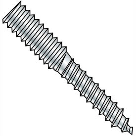 8-32X1 1/2  Hanger Bolt Full Thread Zinc, Pkg of 5000