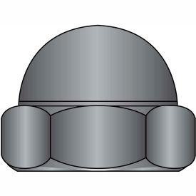 8-32  Two Piece Low Crown Cap Nut Black Zinc, Pkg of 2000