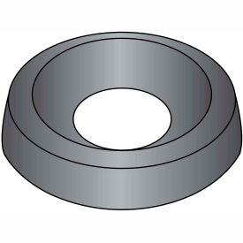 #8 Countersunk Finishing Washer Black Oxide - Pkg of 10000