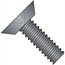 10-24X3/8  Phillips Flat Undercut Machine Screw Fuly Threaded 18 8 Stainless Steel Black Ox,4000 pcs