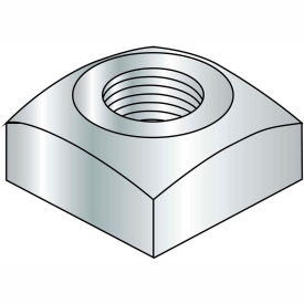 1-8  Regular Square Nut Zinc, Pkg of 50