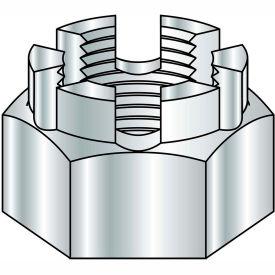 1-14  Castle Nut Zinc, Pkg of 50