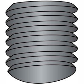 10-32X1/4  Fine Thread Socket Set Screw Oval Point  Plain Imported, Pkg of 50