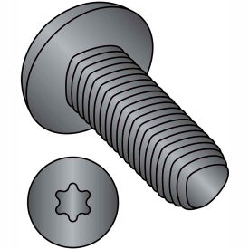 10-32X3/8 6 Lobe Pan Taptite Alternative Thread Rolling Fully Thrd Black Oxide & Wax,10000 pcs