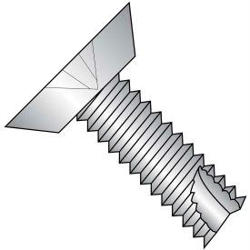 10-32X1/2  Phillips Flat Undercut Thread Cutting Screw Type 23 Fully Thrd 18 8 Stainless,5000 pcs
