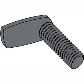 Made In USA 10-32X1 3/4  L Shaped 90 Degree Spot Weld Screw Plain, Pkg of 1000