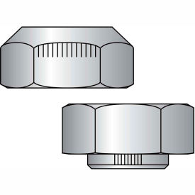 1 1/8-7  Stover Equivalent Lock Nut Grade C Cad And Wax, Pkg of 20
