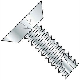 12-24X1 1/2  Phillips Flat Undercut Thread Cutting Screw Type 23 Full Thrd Zinc Bake, Pkg of 2000