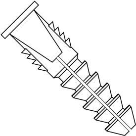 8-10 Plastic Anchor - Pkg of 3000