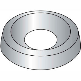 #12 Countersunk Finishing Washer Nickel - Pkg of 4000
