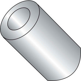 #4 x 1/4 One Quarter Round Spacer Brass Nickel - Pkg of 500