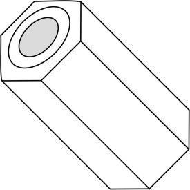 .115x3/8 One Quater Hex Spacer Nylon, Pkg of 1000