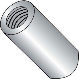 6-32 x 1/2 One Quarter Round Standoff - Brass Nickel - Pkg of 500