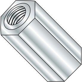 4-40x5/8 One Quarter Hex Female Standoff Brass Nickel, Pkg of 500
