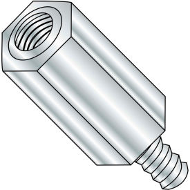 6-32X11/16  One Quarter Hex Male Female Standoff Aluminum, Pkg of 1000