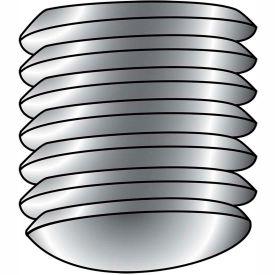 1/4-20X3/4  Coarse Thread Socket Set Screw Oval Point Plain Imported, Pkg of 25
