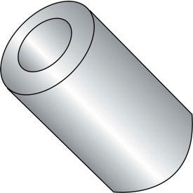 #8 x 7/8 One Quarter Round Spacer Brass Nickel - Pkg of 500