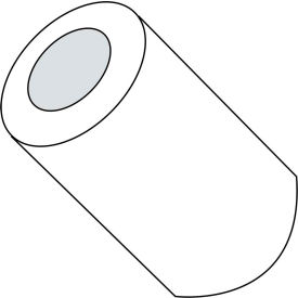 #8 x 7/8 One Quarter Round Spacer Nylon - Pkg of 1000