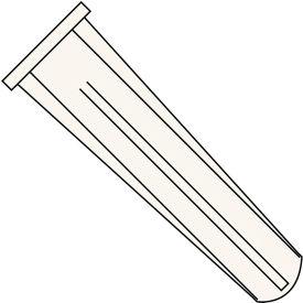 Conical Plastic Anchor - 14-16 x 1-1/2 - Blue - Pkg of 3000