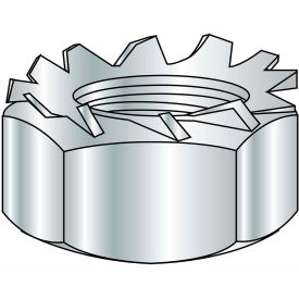 1/4-20  K Lock Nut Zinc Bake, Pkg of 2000