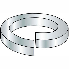 1/4  Medium Split Lock Washer Zinc Bake, Pkg of 10000