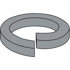 1/4  High Collar Split Lock Washer Plain, Pkg of 5000