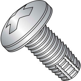 5/16-18X1/2  Phillips Pan Thread Cutting Screw Type F Full Thrd 18 8 Stainless Steel, Pkg of 1000