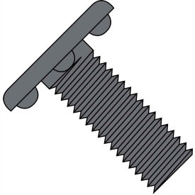 3/8-16X1  Weld Screw With Nibs Under The Head Fully Threaded Plain, Pkg of 750