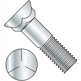 3/8-16X2  Grade 5 Plow Bolt With Number 3 Head Zinc, Pkg of 625