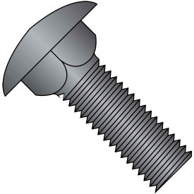 3/8-16X2  Carriage Bolt Fully Threaded Black Oxide and Oil, Pkg of 400