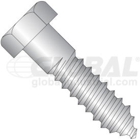 3/8X4  Hex Lag Screw 18 8 Stainless Steel, Pkg of 50