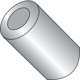 #10 x 7/16 One Half Round Spacer Aluminum - Pkg of 1000