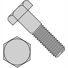 1/2-13X1  Hex Machine Bolt Galvanized Hot Dip Galvanized, Pkg of 400