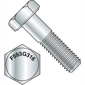1/2-13X1  Hex Cap Screw 3 16 Stainless Steel, Pkg of 50