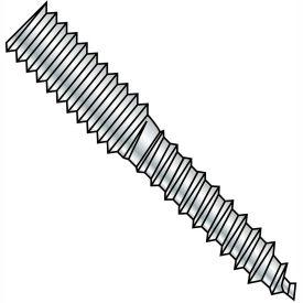 1/2-13x3 1/2 Hanger Bolt Full Thread Zinc, Pkg of 100