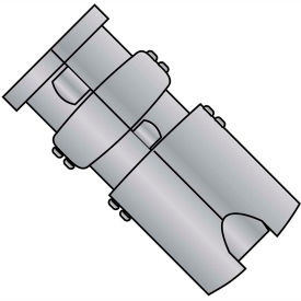 1/2  Single Expansion Anchor Zamac Alloy, Pkg of 25