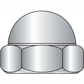1/2-13  Low Crown Hex Cap Nut 18 8 Stainless Steel, Pkg of 100